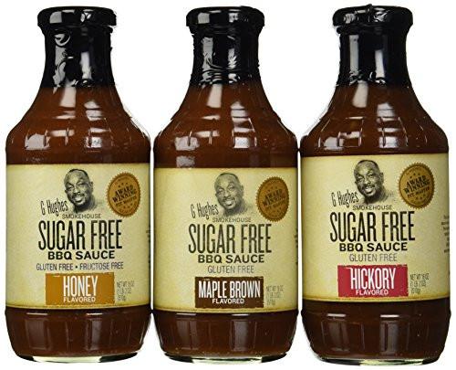 G Hughes Sugar Free Bbq Sauce  G Hughes Smokehouse Sugar Free BBQ Sauce 18oz Glass Bottle