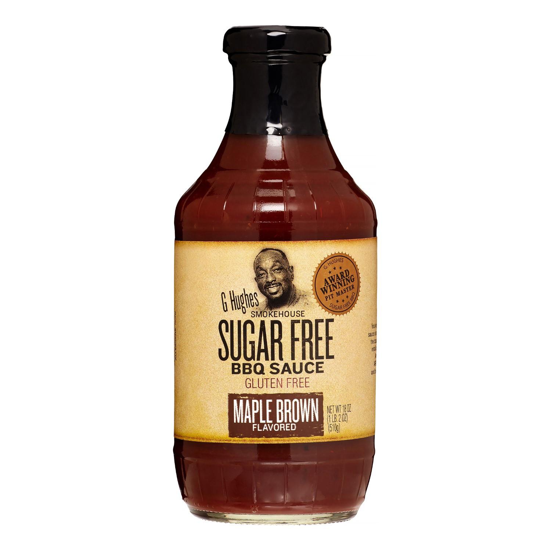 G Hughes Sugar Free Bbq Sauce  G Hughes Smokehouse BBQ Sauce Maple Brown Flavored Sugar