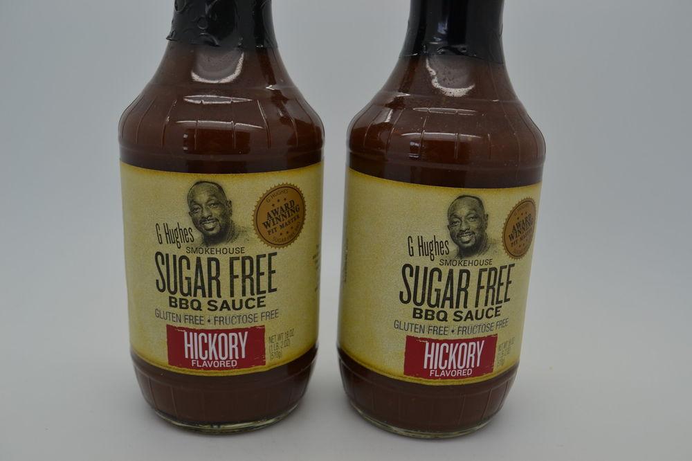 G Hughes Sugar Free Bbq Sauce  2 G Hughes Smokehouse BBQ Sauce Sugar Free Hickory