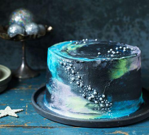 Galaxy Cake Recipe  Galaxy cake recipe