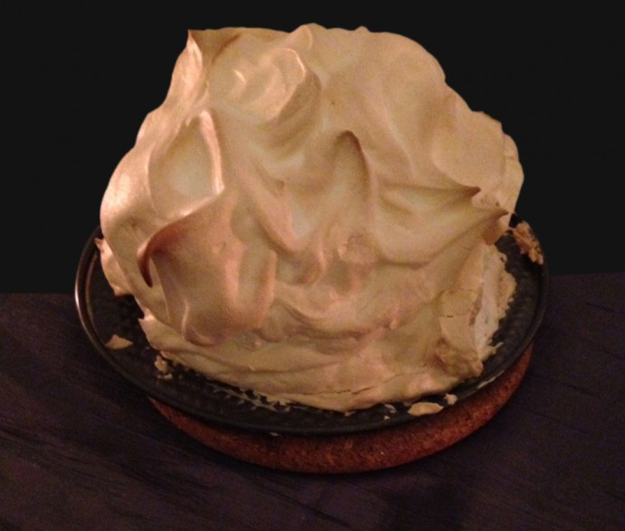 Game Of Thrones Desserts  Beware the White Walkers Baked Alaska