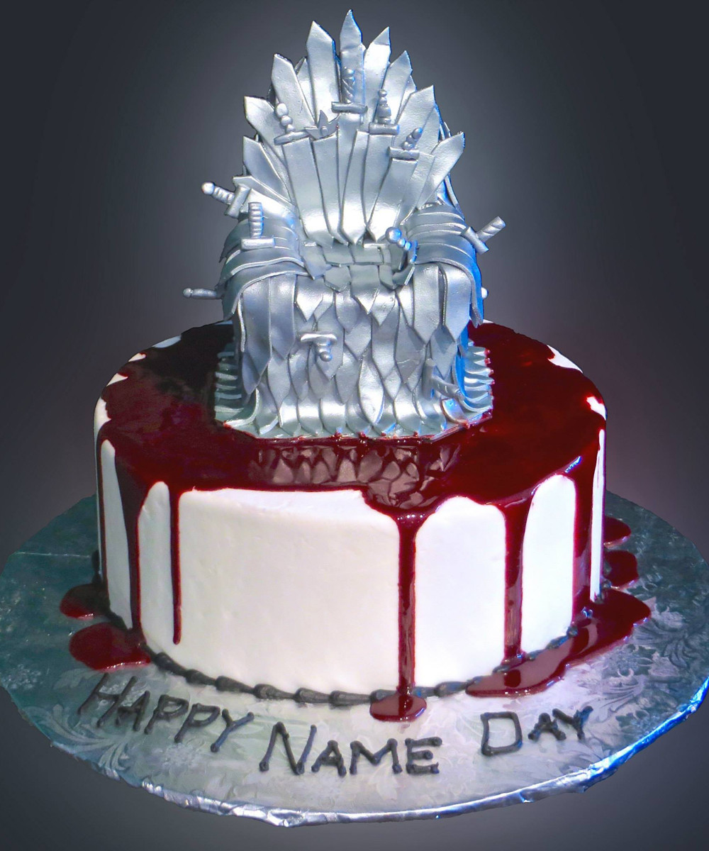 Game Of Thrones Desserts  Game of Thrones Cake Sweet Somethings Desserts
