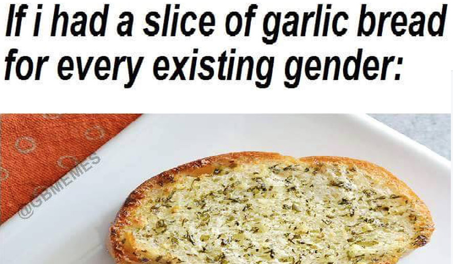 Garlic Bread Memes  Screen capture from the Garlic Bread Memes page