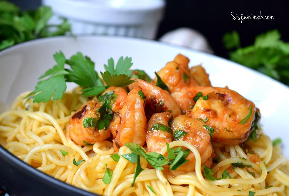Garlic Butter Shrimp Pasta  Garlic Butter Shrimp Pasta Sisi Jemimah