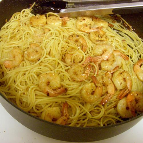 Garlic Butter Shrimp Pasta  Garlic Lemon Pasta and Shrimp Joyful Abode