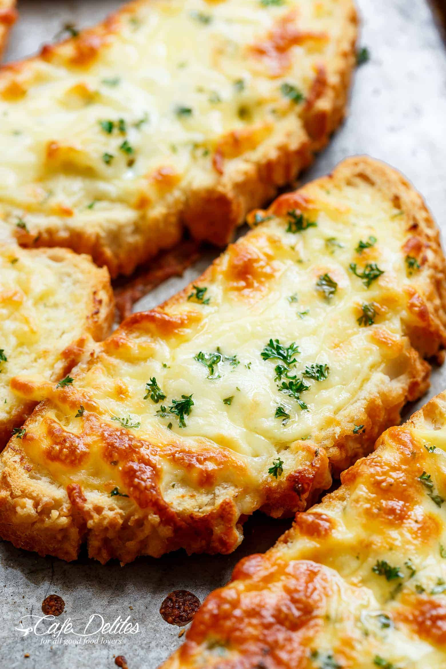 Garlic Cheese Bread  Individual Garlic Cheese Breads Single Serve RECIPE