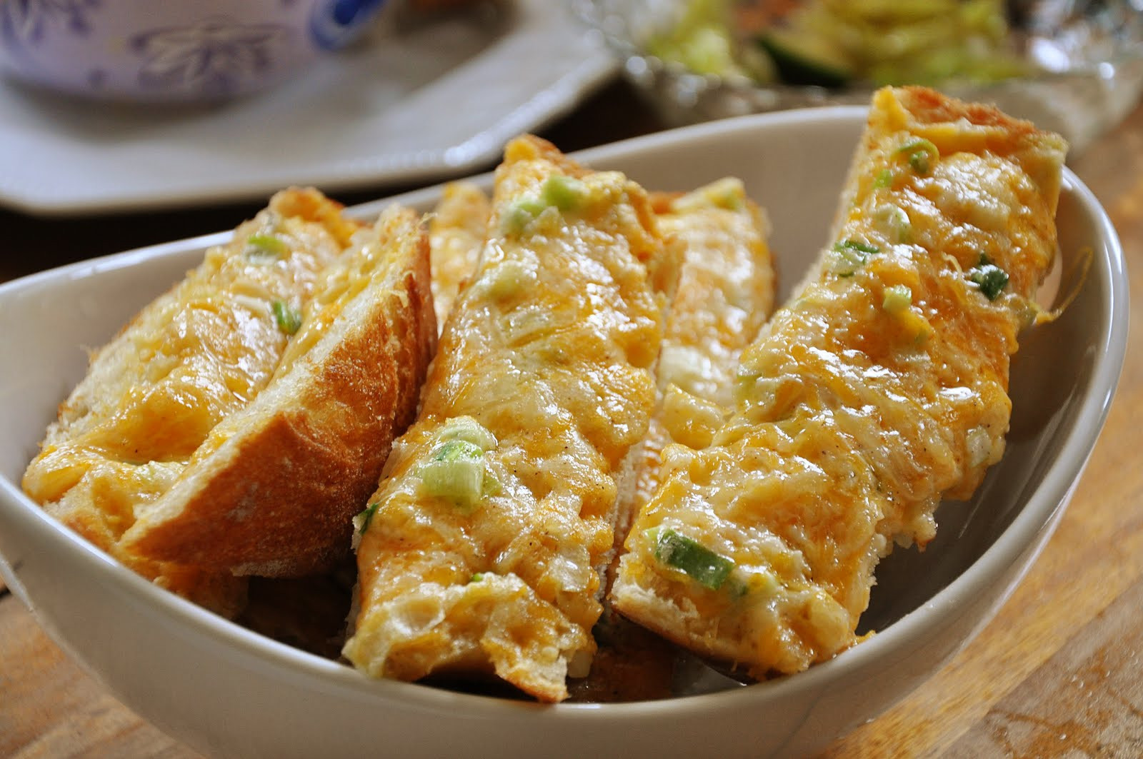 Garlic Cheese Bread  Cheese Garlic Bread — Living Lou