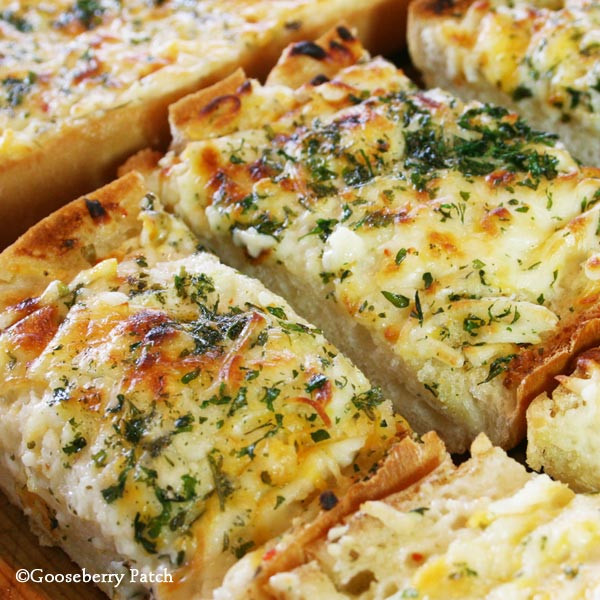 Garlic Cheese Bread  Gooseberry Patch Recipes Bubbly Cheese Garlic Bread from