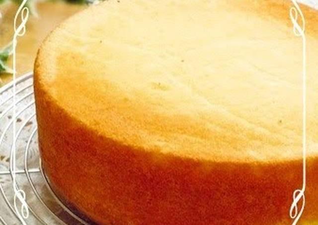 Genoise Sponge Cake  Moist and Fluffy Sponge Cake Genoise Sponge Cake Recipe