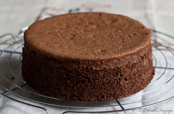 Genoise Sponge Cake  Sponge Cake Genoise Chocolat Recipe The Delectable