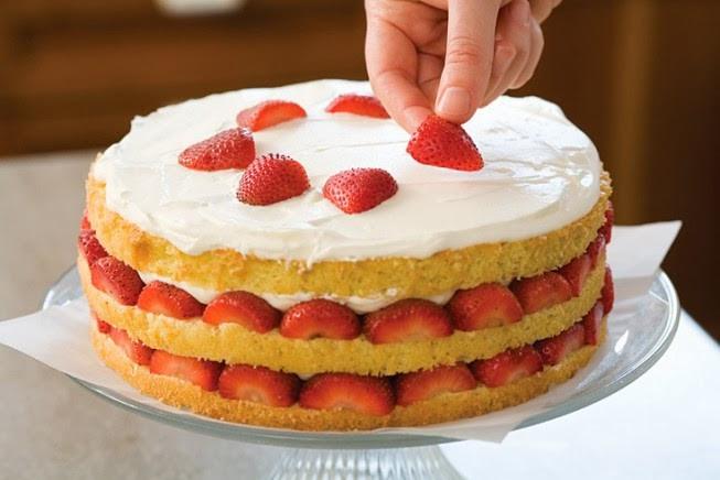 Genoise Sponge Cake  Genoise sponge cake