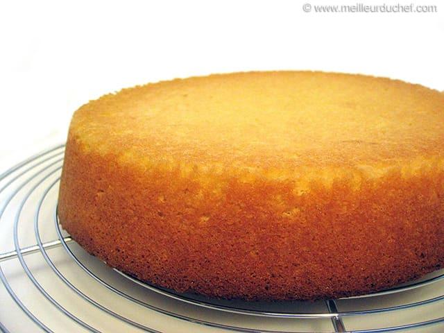 Genoise Sponge Cake  Génoise Sponge Recipe with images MeilleurduChef
