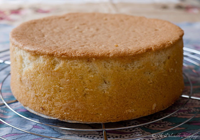 Genoise Sponge Cake  Sponge Cake Genoise Recipe The Delectable Hodgepodge