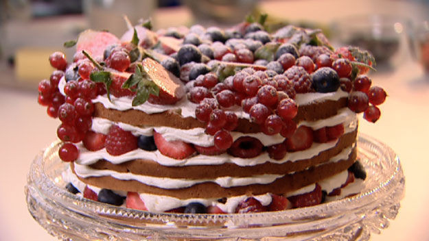 Genoise Sponge Cake  Cake Recipe Genoise Cake Recipe Chocolate