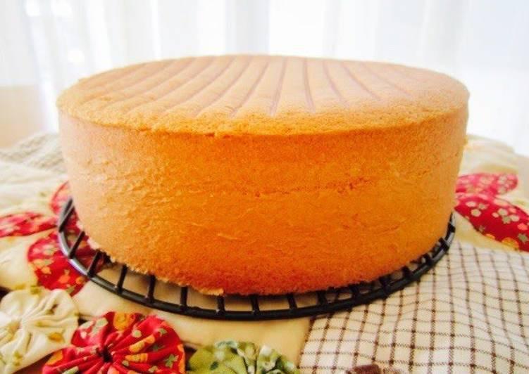 Genoise Sponge Cake  Fluffy Genoise Sponge Cake Recipe by cookpad japan Cookpad