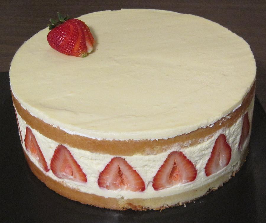 Genoise Sponge Cake  appetizing strawberry genoise cake id 1035e ⋆ Cakes for