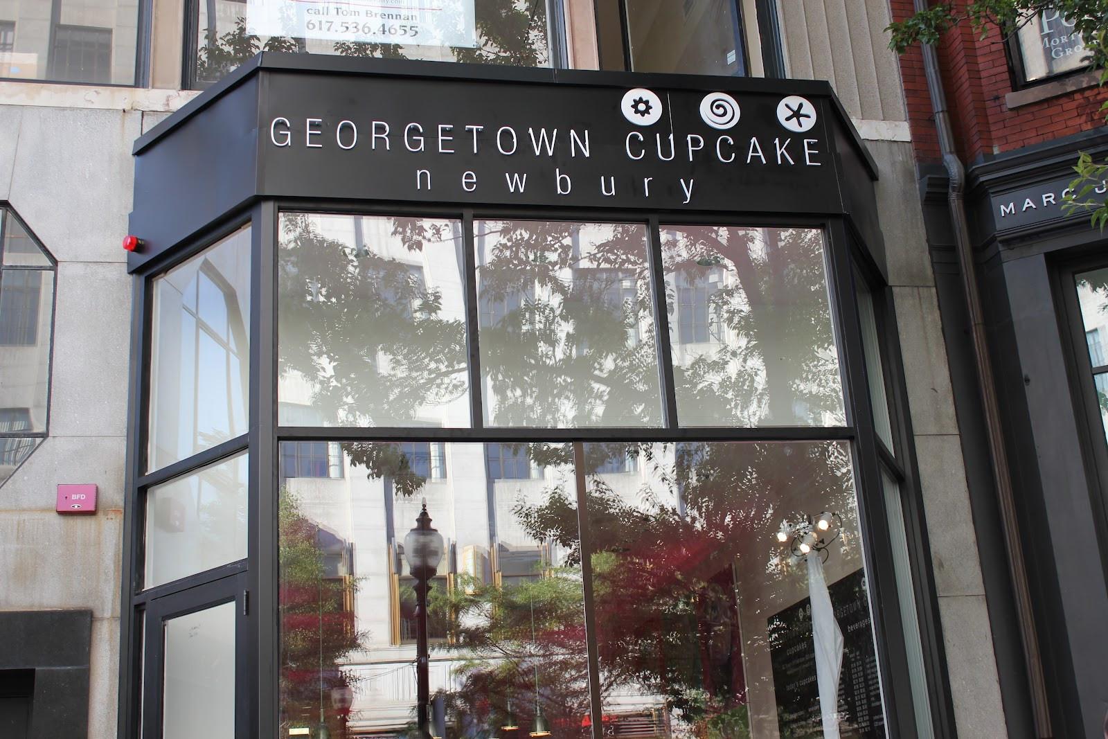 Georgetown Cupcakes Boston  Delicious Dishings Geor own Cupcake Newbury