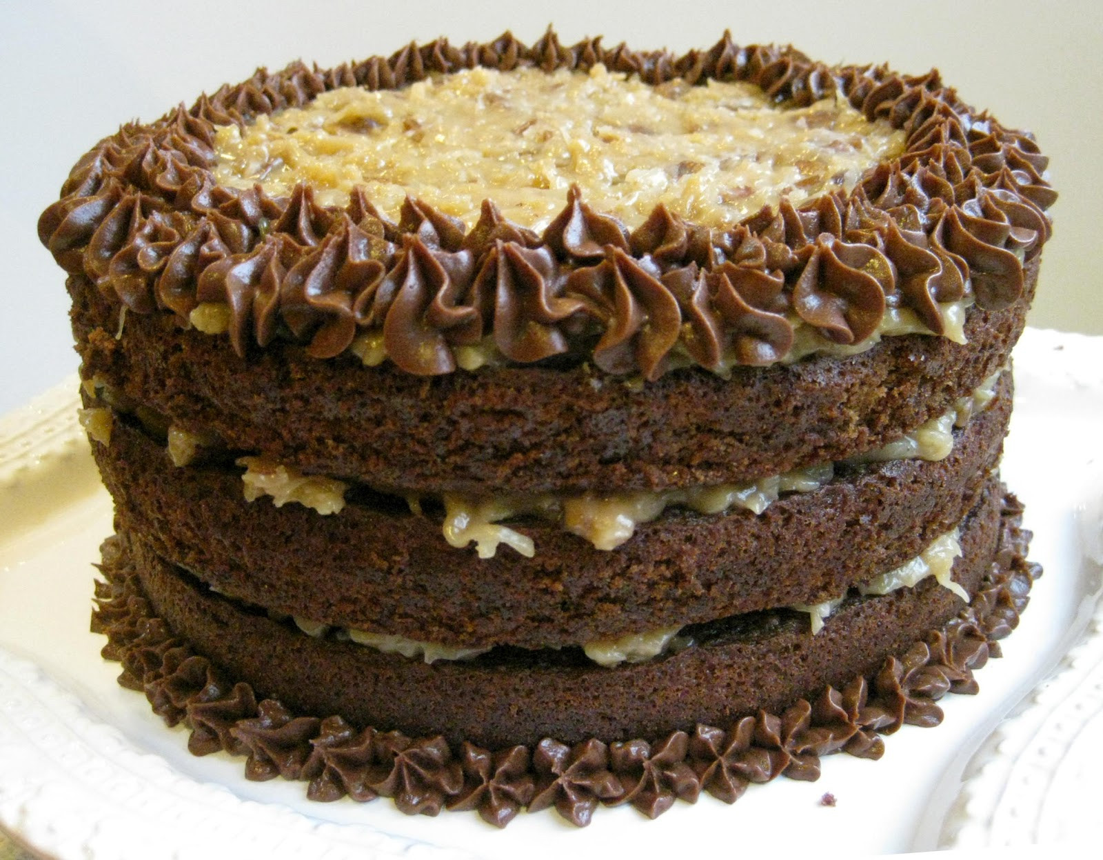 German Chocolate Cake  Everyday Insanity German Chocolate Cake