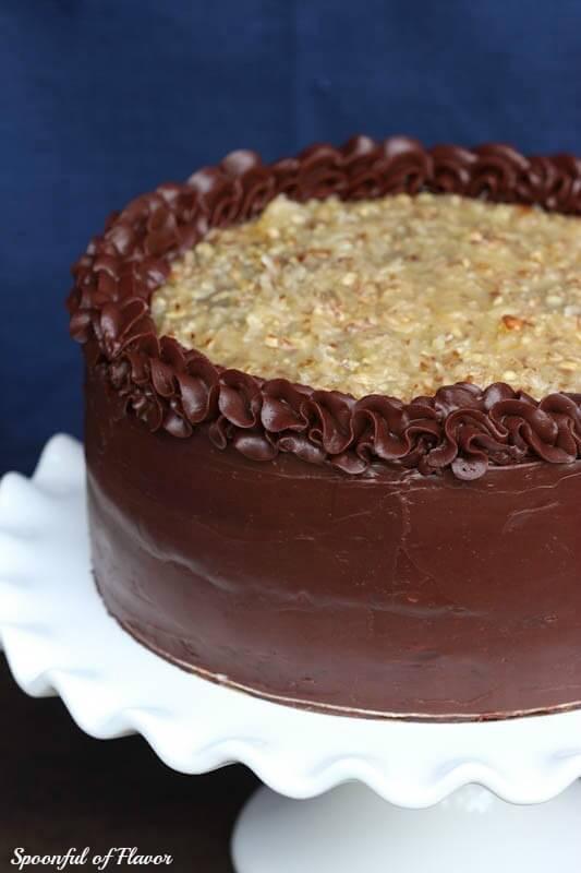 German Chocolate Cake Origin  german chocolate cake recipe