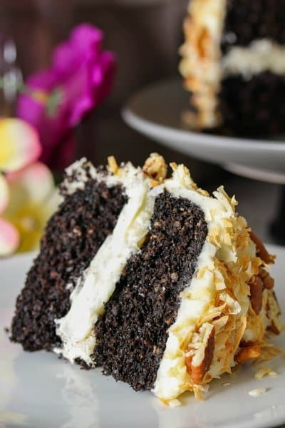 German Chocolate Cake Origin  Healthy German Chocolate Cake