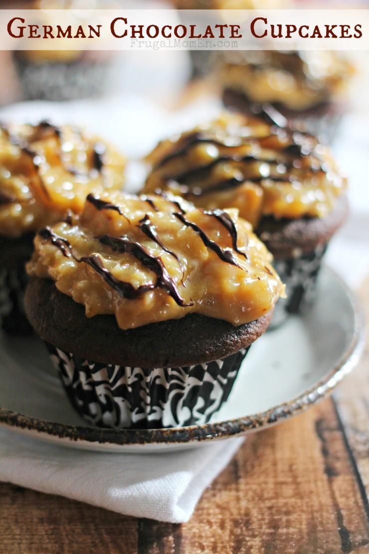 German Chocolate Cake Originates From Which Country?  German Chocolate Cupcakes Frugal Mom Eh