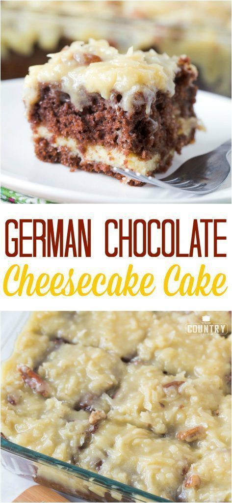 German Chocolate Cake Originates From Which Country?  best Recipes from our Favorite Bloggers images on