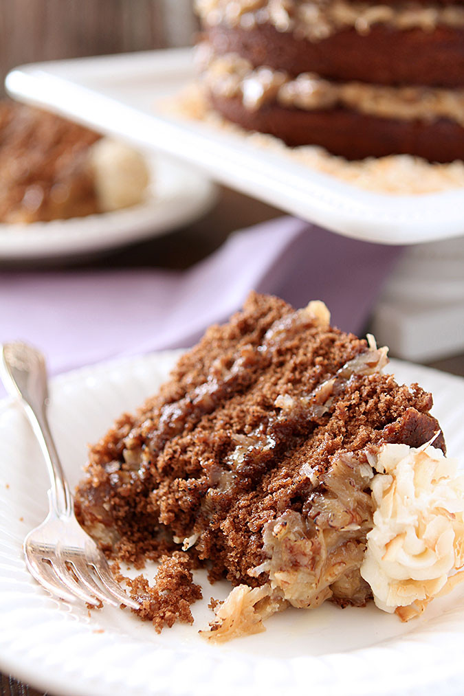 German Chocolate Cake Originates From Which Country?  German Chocolate Cake with Rum Glaze and Buttercream