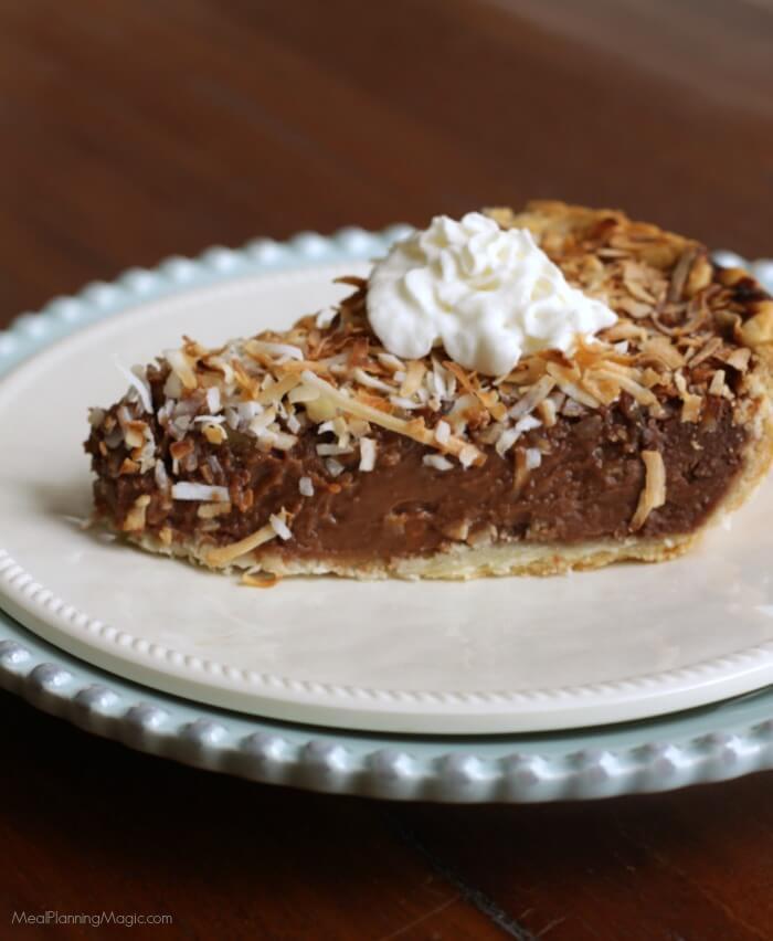 German Chocolate Pie  German Sweet Chocolate Cream Pie