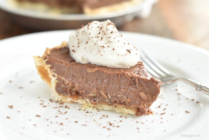 German Chocolate Pie  German Chocolate Pie
