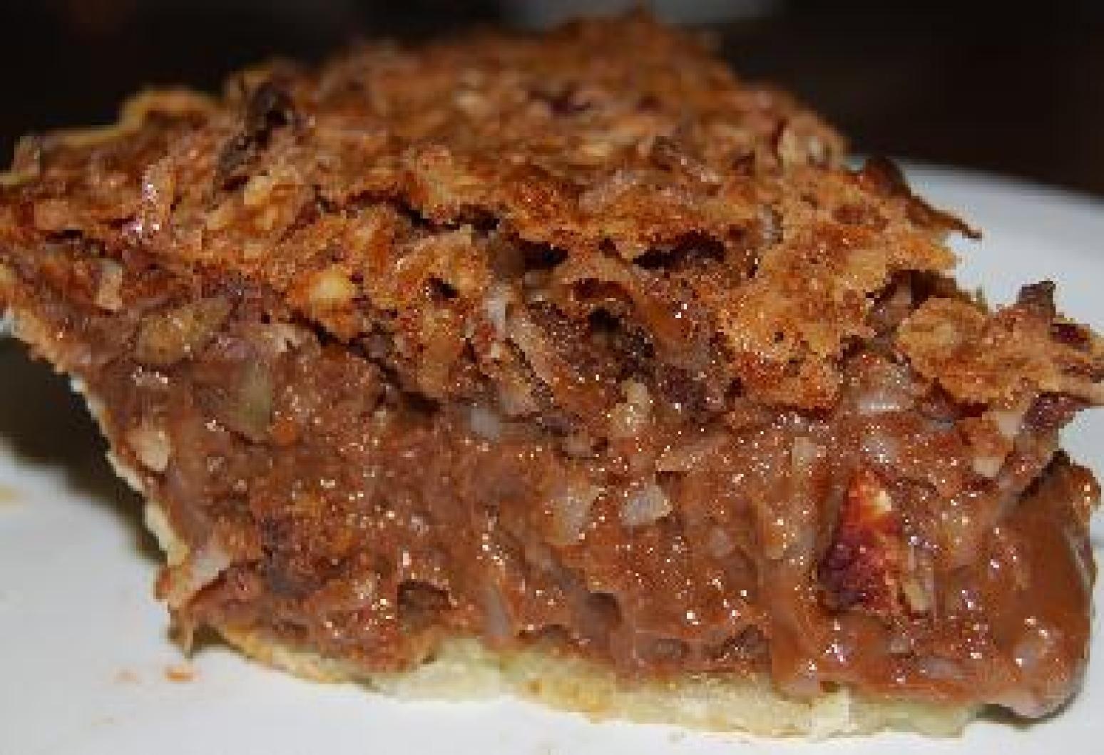 German Chocolate Pie  German Chocolate Pie Recipe 4