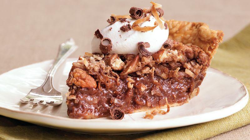 German Chocolate Pie  German Chocolate Pie Recipe BettyCrocker