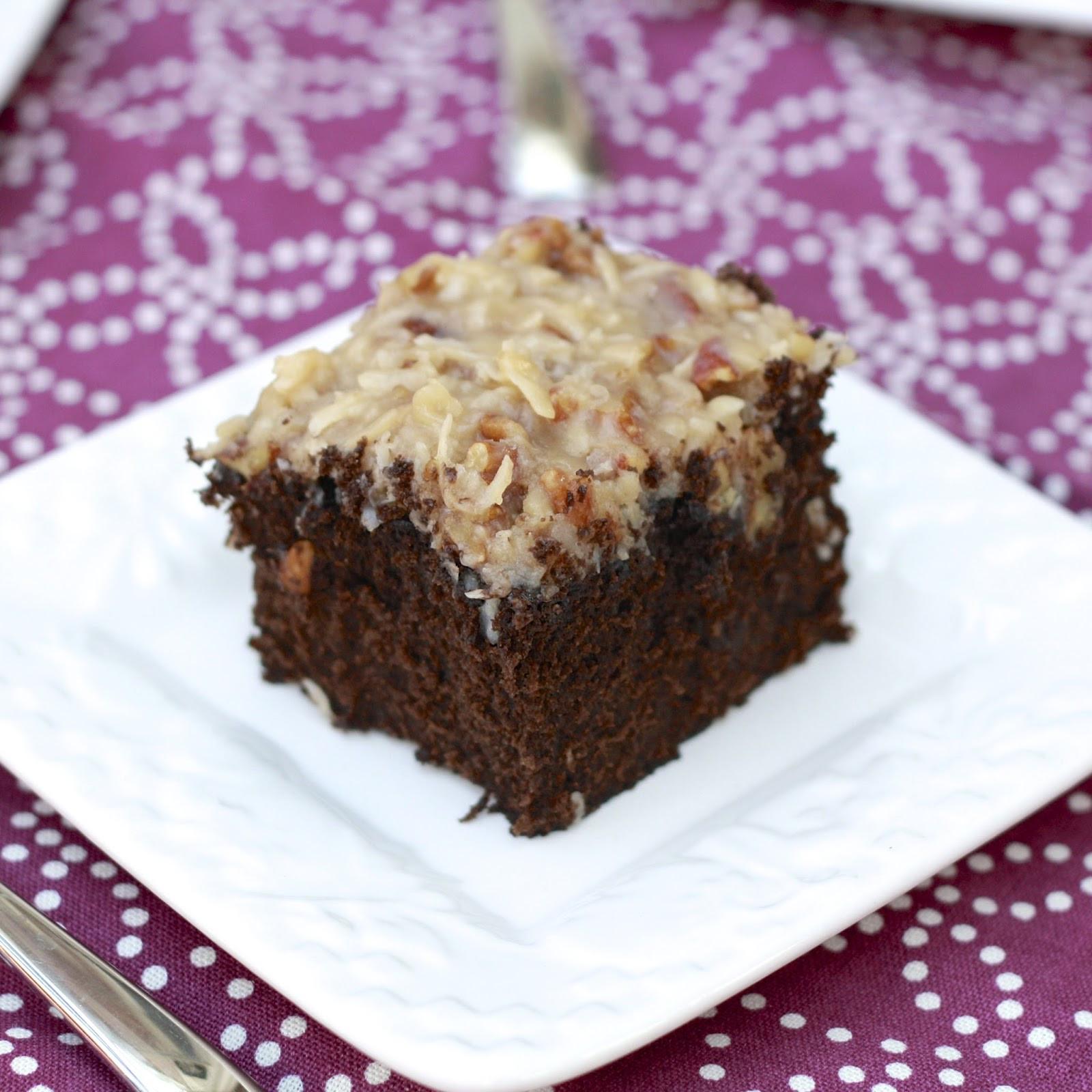 German Chocolate Sheet Cake  german chocolate cake
