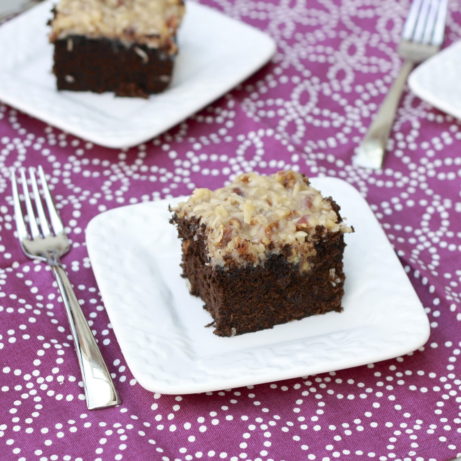German Chocolate Sheet Cake  german chocolate cake