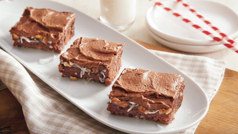 German Chocolate Sheet Cake  German Chocolate Sheet Cake recipe from Betty Crocker