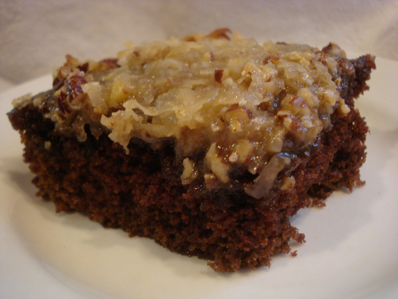 German Chocolate Sheet Cake  The Cookie Scoop Pennsylvania German Chocolate Cake