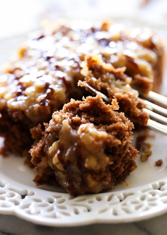 German Chocolate Sheet Cake  German Chocolate Sheet Cake Chef in Training