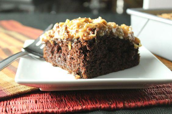 German Chocolate Sheet Cake  German Chocolate Sheet Cake Recipes to Cook