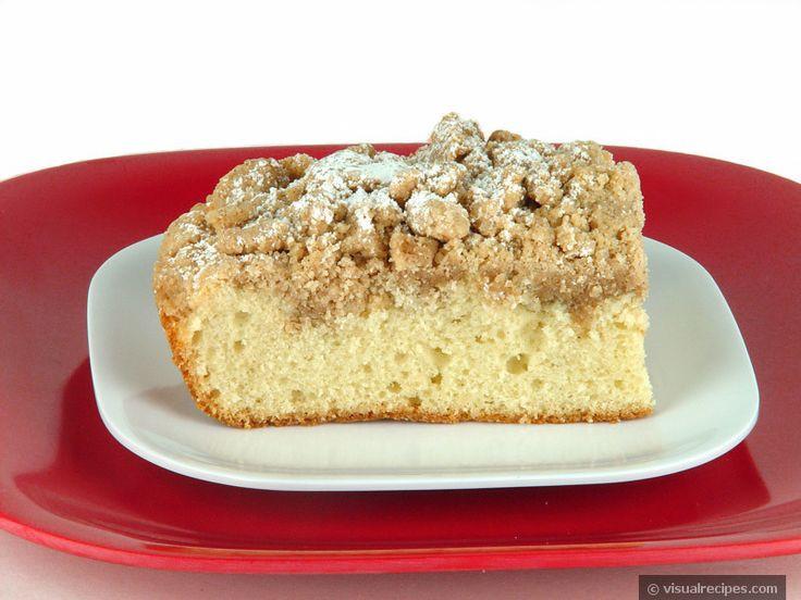 German Coffee Cake  german coffee cake with streusel crumb topping