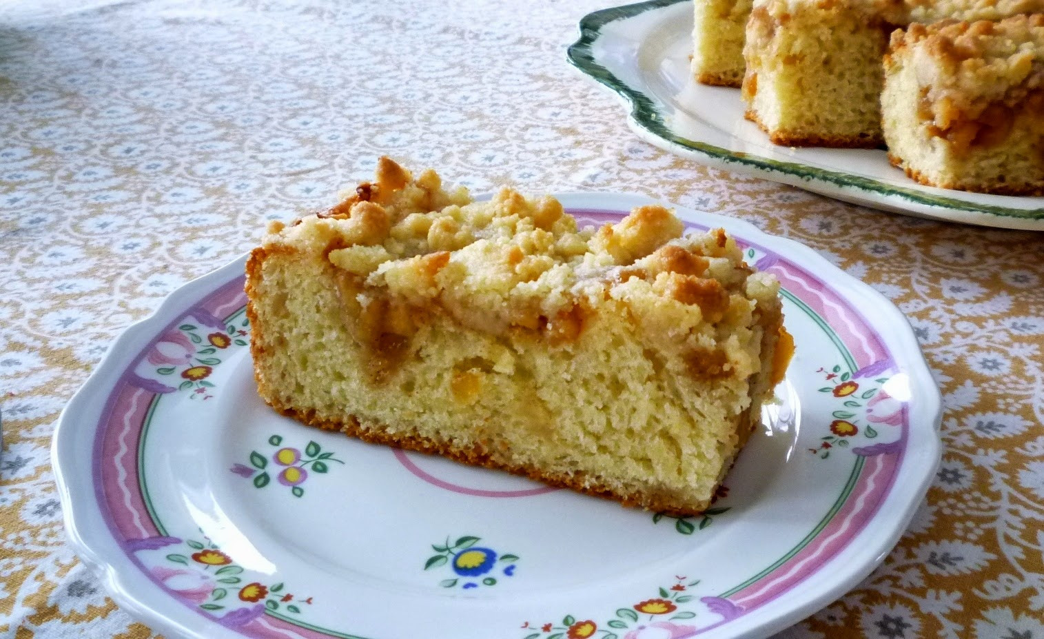 German Coffee Cake  For Love of the Table Yeasted Apple Streusel Coffee Cake