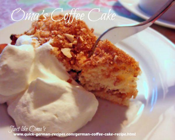 German Coffee Cake  German Coffee Cake Recipe made Just like Oma ️ ️