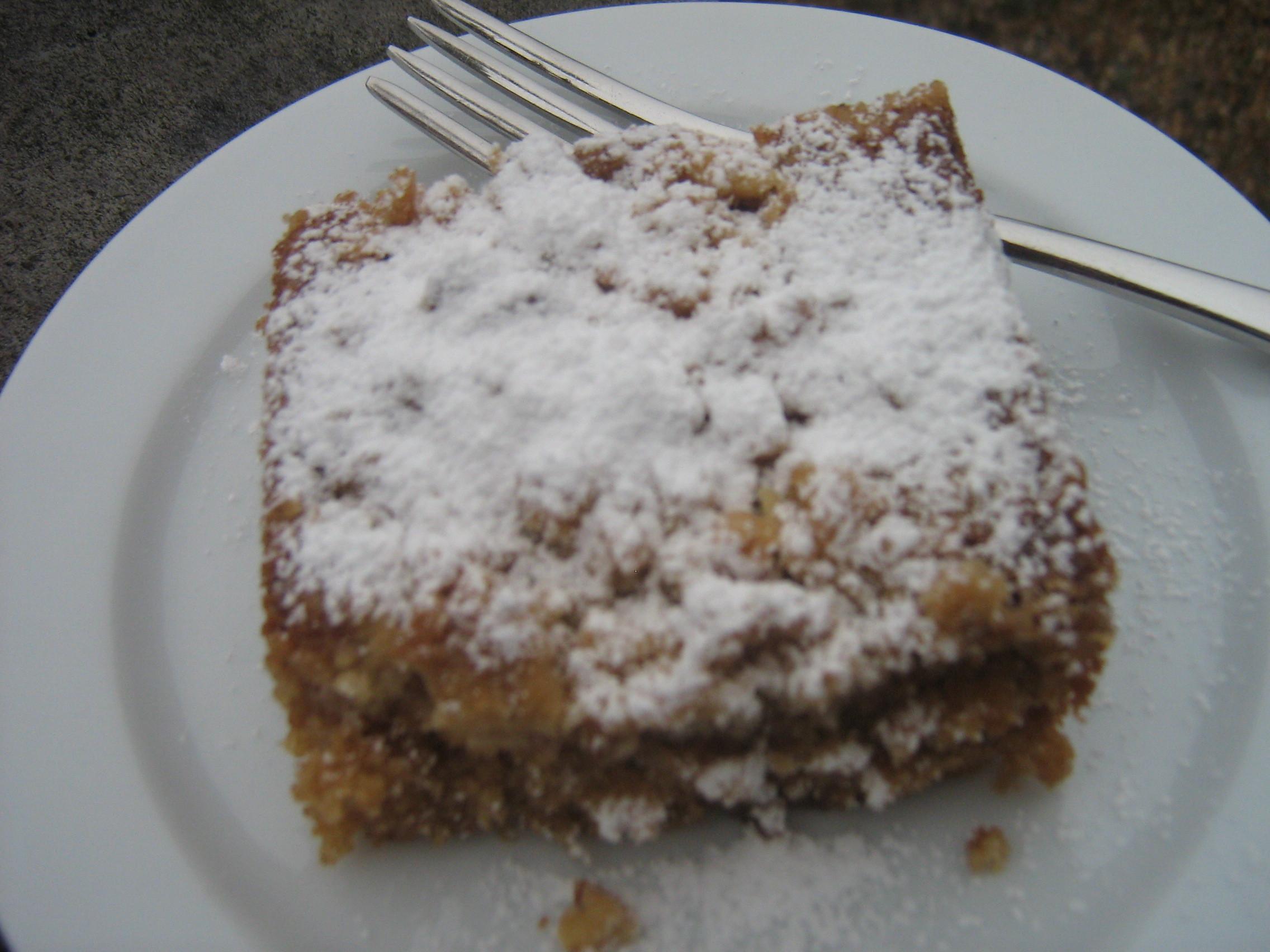 German Coffee Cake  It's all German to me