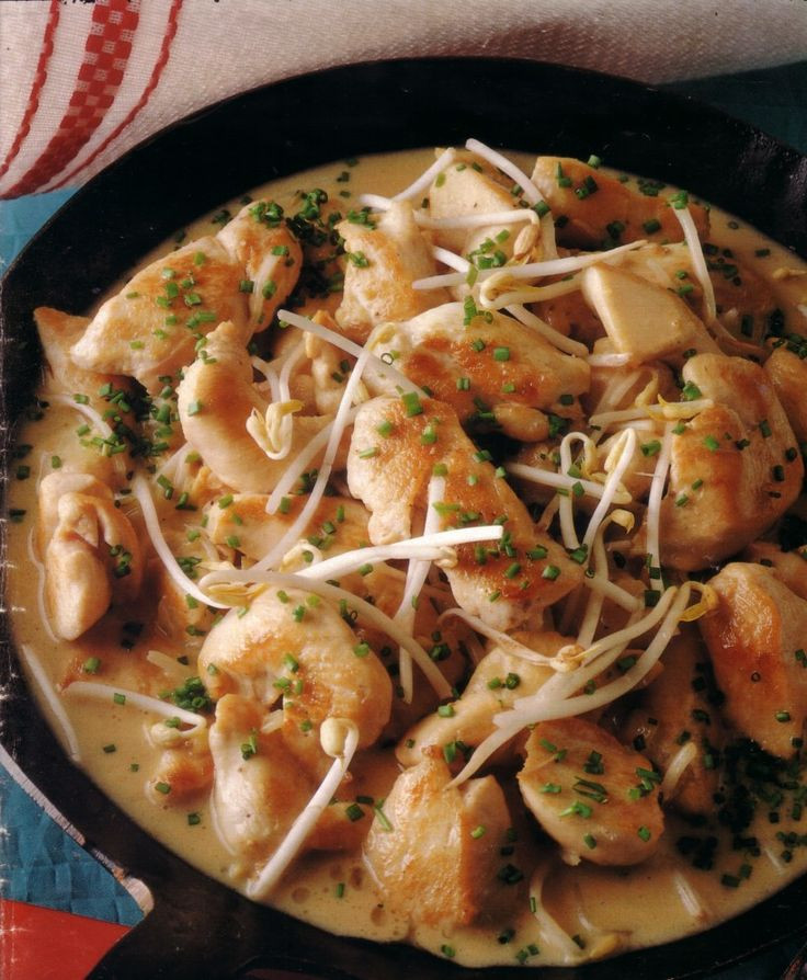 German Dinner Recipes  chicken ragout germanrecipes german food