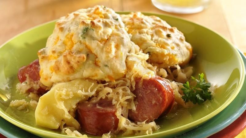 German Dinner Recipes  Polish Sausage Supper recipe from Betty Crocker
