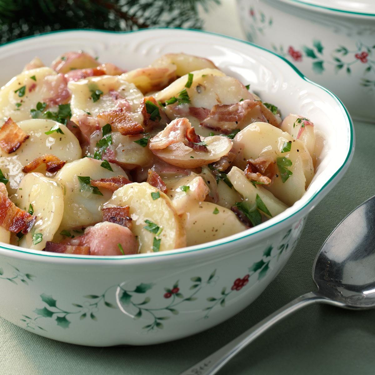 German Dinner Recipes  Authentic German Potato Salad Recipe