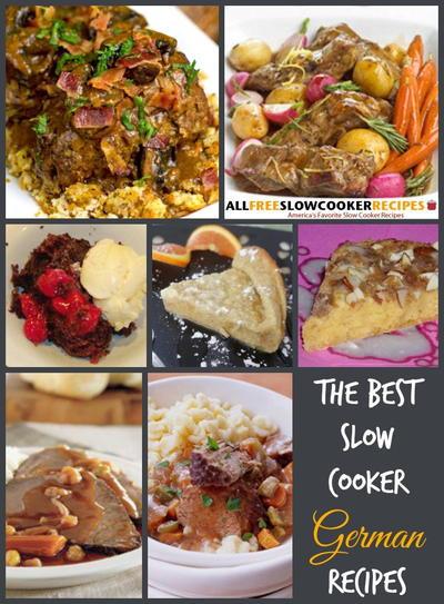 German Dinner Recipes  German Dinner in the Slow Cooker 11 German Slow Cooker