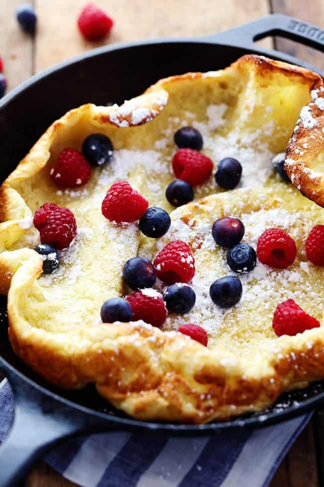 German Pancakes Recipe  German Oven Pancake
