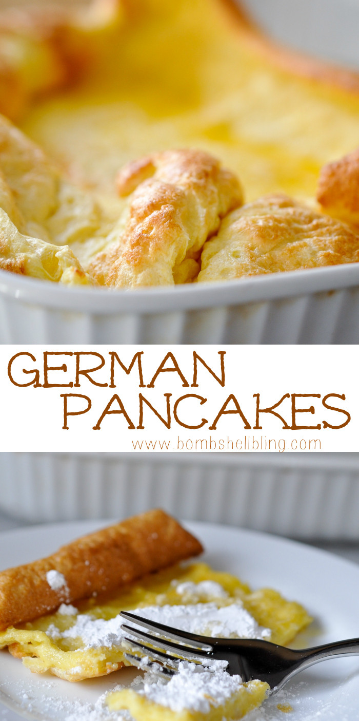 German Pancakes Recipe  German Pancakes Recipe