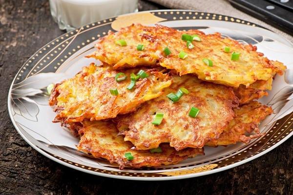 German Potato Pancakes  Crispy German Potato Pancakes
