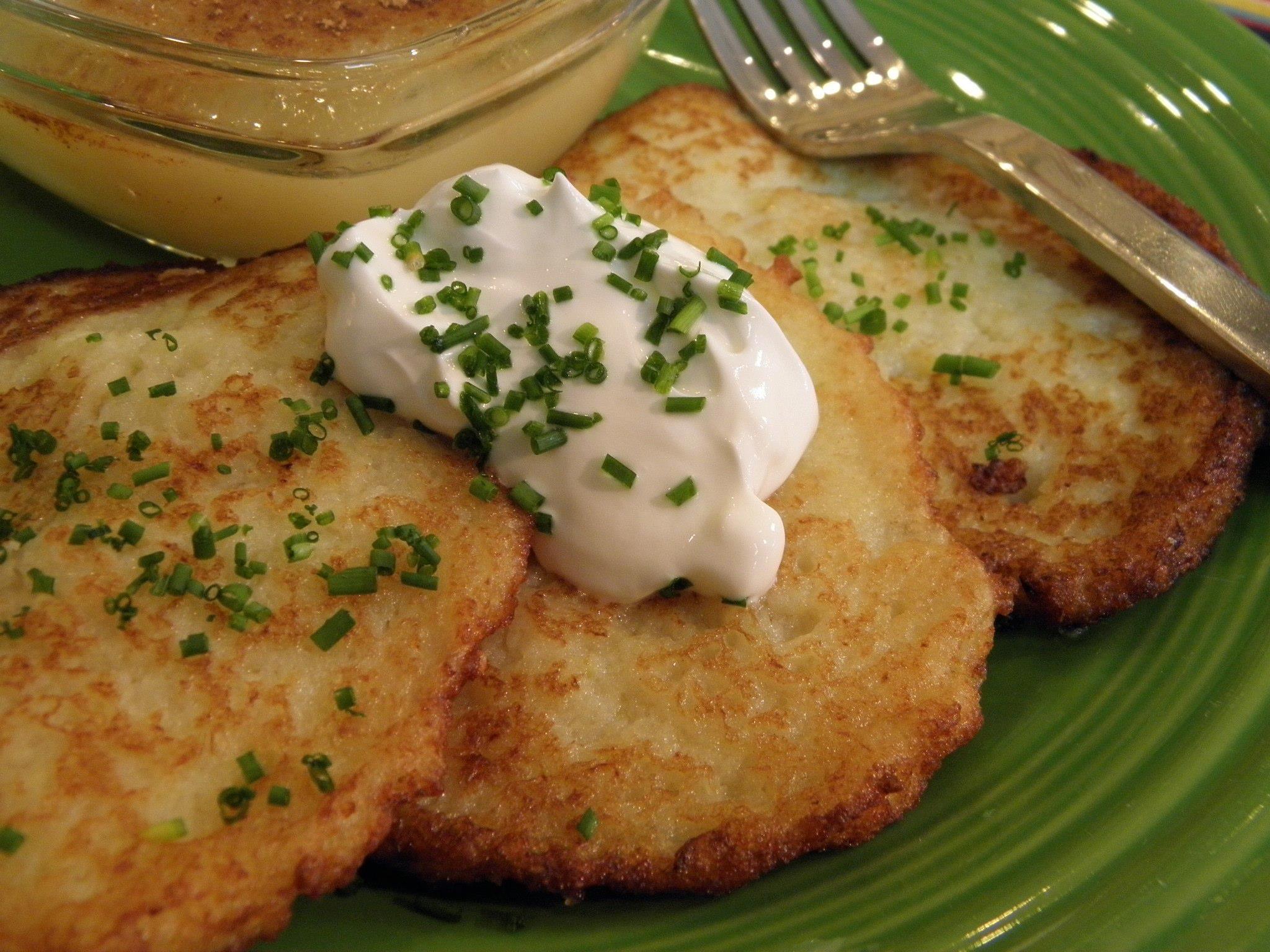 German Potato Pancakes  RECIPE Potato Pancakes Kartoffelpuffer – Metro Monthly