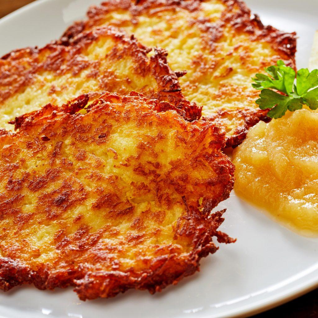 German Potato Pancakes  Traditional Kartoffelpuffer German Potato Pancakes The